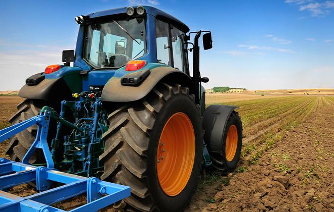 Le tracteur agricole